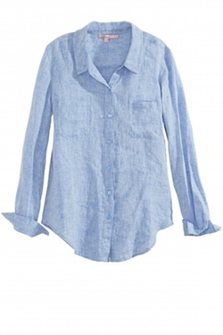 Calypso St. Barth - Rahani Linen Button Down Shirt