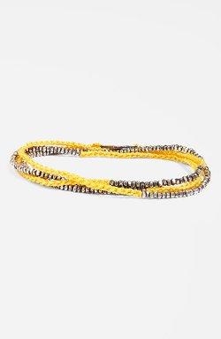 M. Cohen - Silver Bead Wrap Bracelet