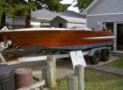 Chris Craft Holiday  - 1963 Mahogany Speedboat