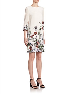 Erdem  - Emma Mini Shift Dress