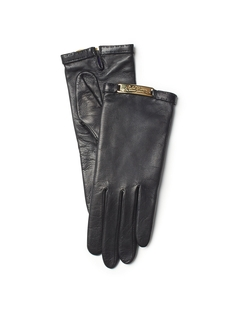Ralph Lauren - Plaque Nappa Gloves