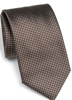 Canali - Micro Dot Silk Tie