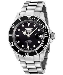 Invicta - Automatic Silver-Tone Watch