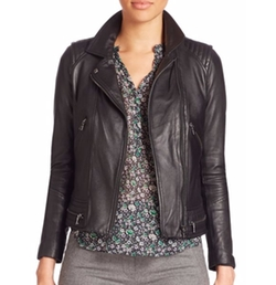 Rebecca Taylor - Leather Moto Jacket