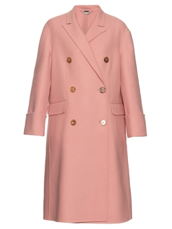 Alexander McQueen   - Double-Breasted Wool And Cashmere-Blend Coat