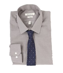 Perry Ellis  - Slim Fit Wrinkle Free Dress Shirt