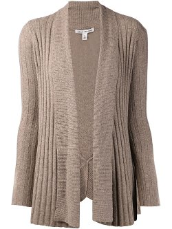 Autumn Cashmere - Uneven Ribbed Cardigan