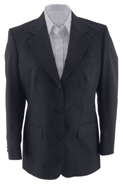 Ed Garments  - Fully Lined Pinstripe Suit Coat