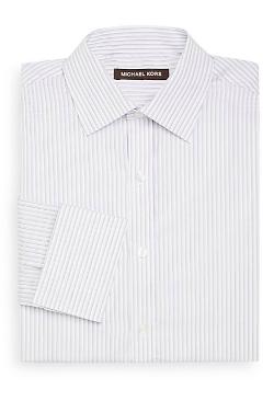 Michael Kors  - Dobby Stripe Dress Shirt