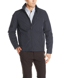 Tommy Hilfiger - Poly-Twill Zip-Front Jacket