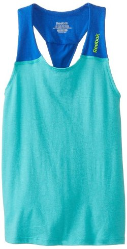 Reebok  - Slinky Twisted Back Tank Top