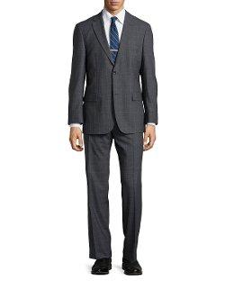Hugo Boss  - Paolini Windowpane Check Suit