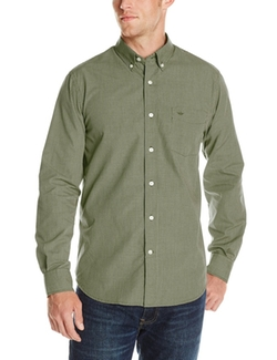 Dockers  - Long Sleeve Mini Check Button Down Shirt