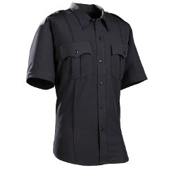 DutyPro - Short Sleeve Polyester Solid Mens Shirt