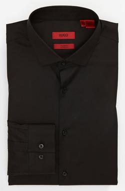 Hugo - Cotton Stretch Dress Shirt