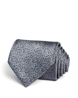 Lanvin - Leopard Solid Classic Tie