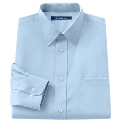 Croft & Barrow - Classic-Fit Point-Collar No Iron Dress Shirt