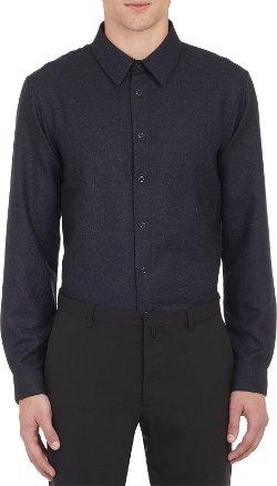 Jil Sander - Melange Snap Front Shirt