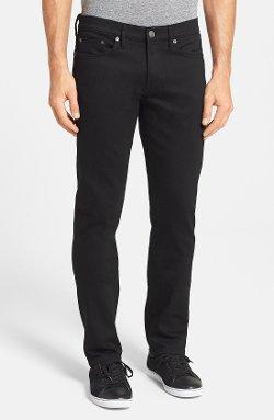 Burberry Brit - Mid Rise Straight Leg Jeans