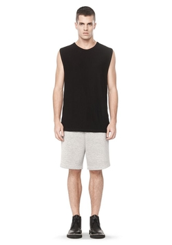 Alexander Wang - Slub Rayon Silk Muscle Top