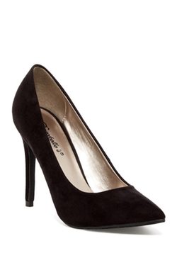 Oppo - Lydia Faux Suede Pumps