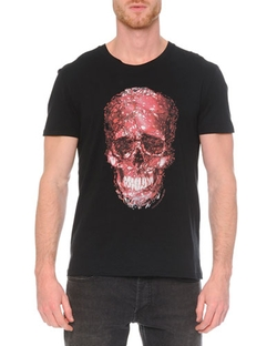 Alexander Mcqueen - Short-Sleeve Skull Graphic T-Shirt