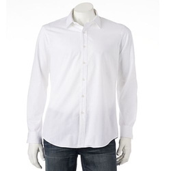 Apt. 9 - Modern-Fit Solid Poplin Casual Button-Down Shirt