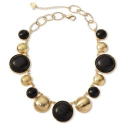 Liz Claiborne - Gold-Tone & Wood Collar Necklace