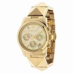 Michael Kors  - Runway Pyramid Chronograph Ladies Watch