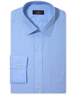 Club Room Estate - Blue Solid Dress Shirt
