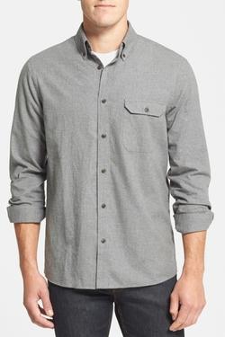 Nordstrom - Long Sleeve Regular Fit Flannel Shirt Jacket