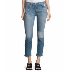 Rag & Bone/Jean - Tomboy Slim-Leg Cropped Jeans