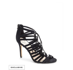 Vince Camuto  - Zayna Strappy Lace Up High Heel Sandals