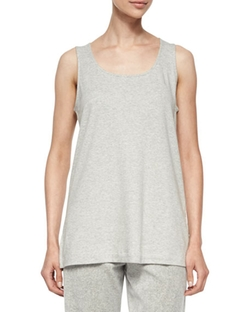 Joan Vass - Cotton Interlock Tank Top