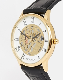 Sekonda - Leather Strap Watch