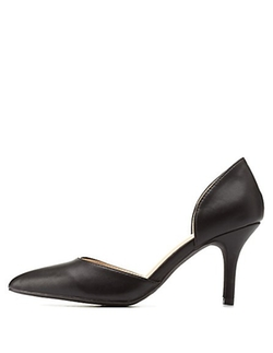 Charlotte Russe - Pointed Toe Low Heel D