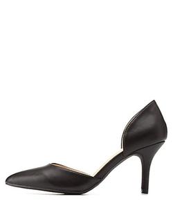 Charlotte Russe - Pointed Toe Low Heel D