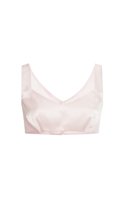 A.W.A.K.E  - Powder Pink Bra Top