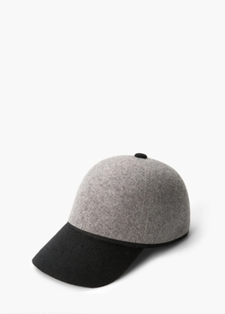 Mango - Wool Blend Baseball Cap