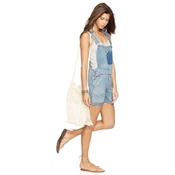 Denim & Supply Ralph Lauren - Rolled Cuff Denim Shortall