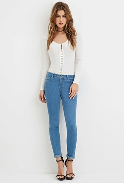 Forever21 - Low-Rise Skinny Jeans