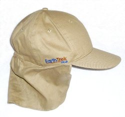 EarthTrekGear - Flap Cap Outdoor Sun Neck Shade Hat