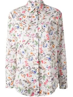 MSGM - Floral Print Shirt