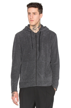 T by Alexander Wang - Terry Zip Hoodie