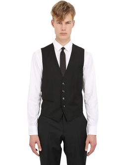 Hugo Boss   - Stretch Wool Vest