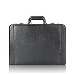 Solo - Classic Collection Leather Laptop Attache Case