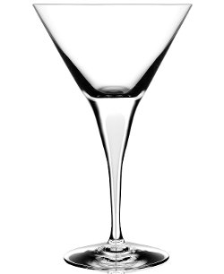 Orrefors Intermezzo Satin - Martini Glass
