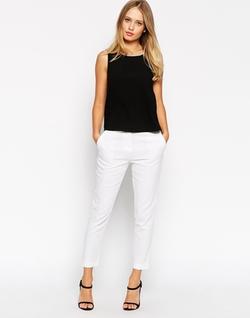 Asos Collection - Lim Cigarette Linen Pants