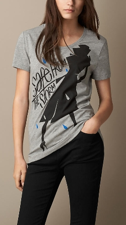 Burberry - Weather Graphic Cotton T-Shirt