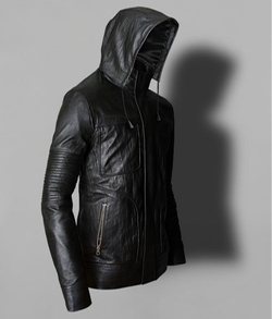LeatherCult - Leather Hooded Mission Impossible Leather Jacket